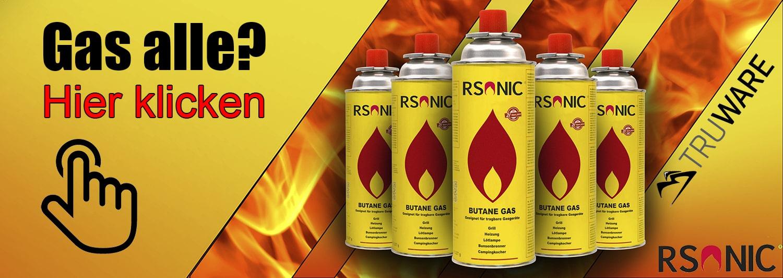 RSonic Gaskartuschen